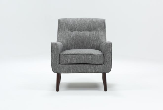 Kendra Grey Accent Chair - 360