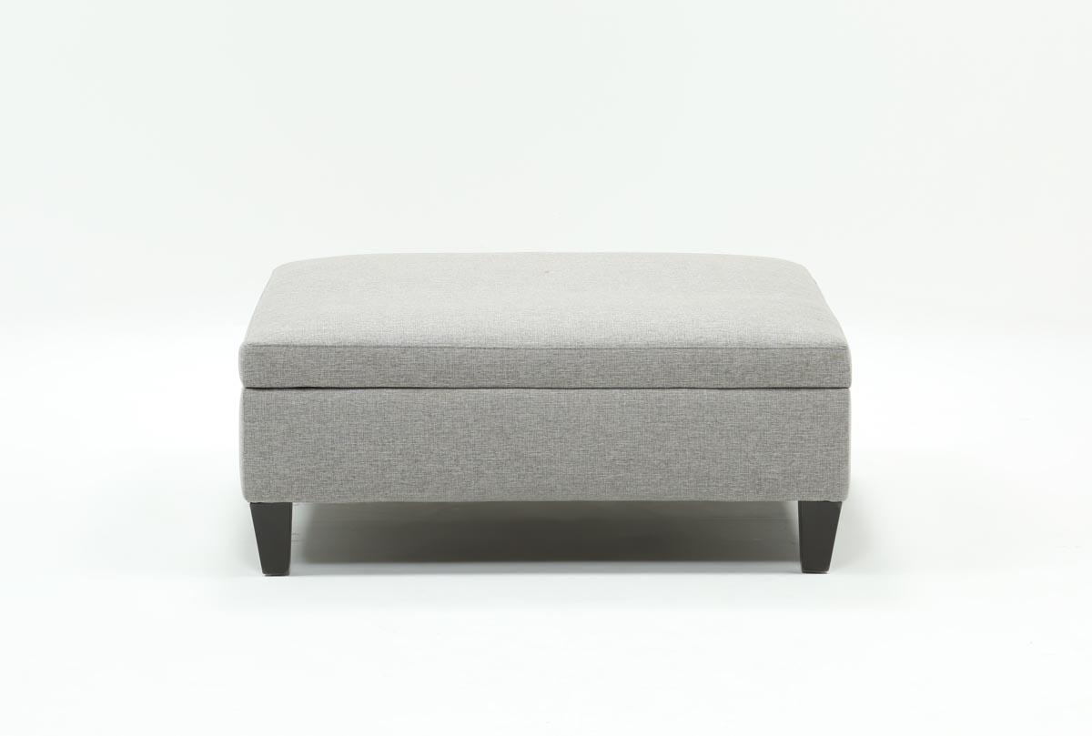 Perch Large Square Storage Ottoman