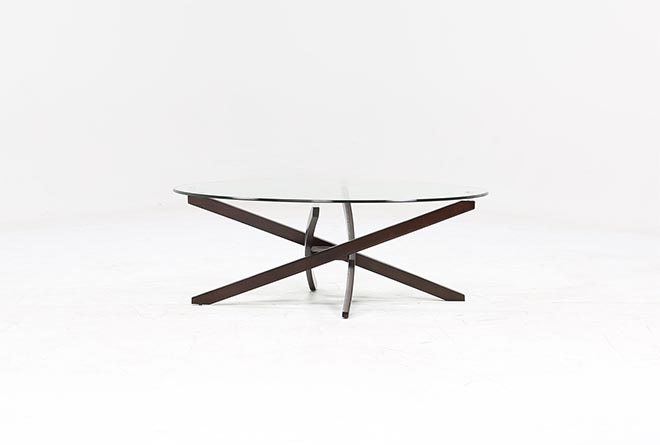 Brisbane Oval Coffee Table 360