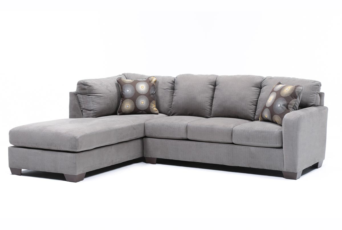 Loveseat sectional sofa with chaise for Andersen leather chaise sectional