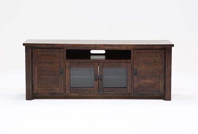 Living Spaces Tv Stand : Canyon 74 Inch TV Stand  Living Spaces