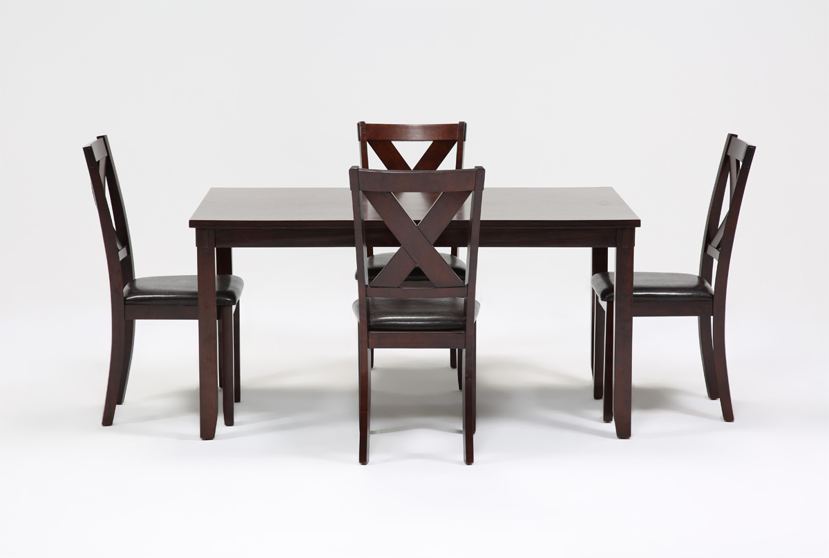 Dakota 5 Piece Dining Table WSide Chairs