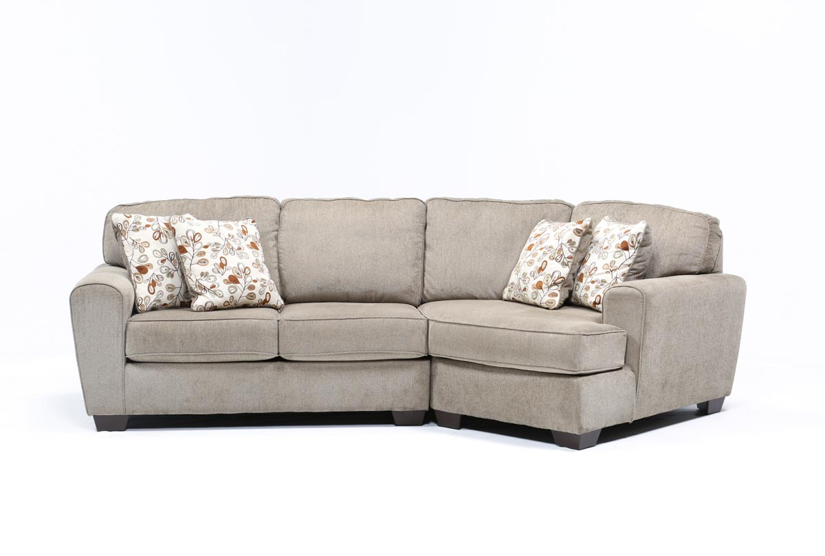 Patola Park 2 Piece Sectional W/Raf Cuddler Chaise ...