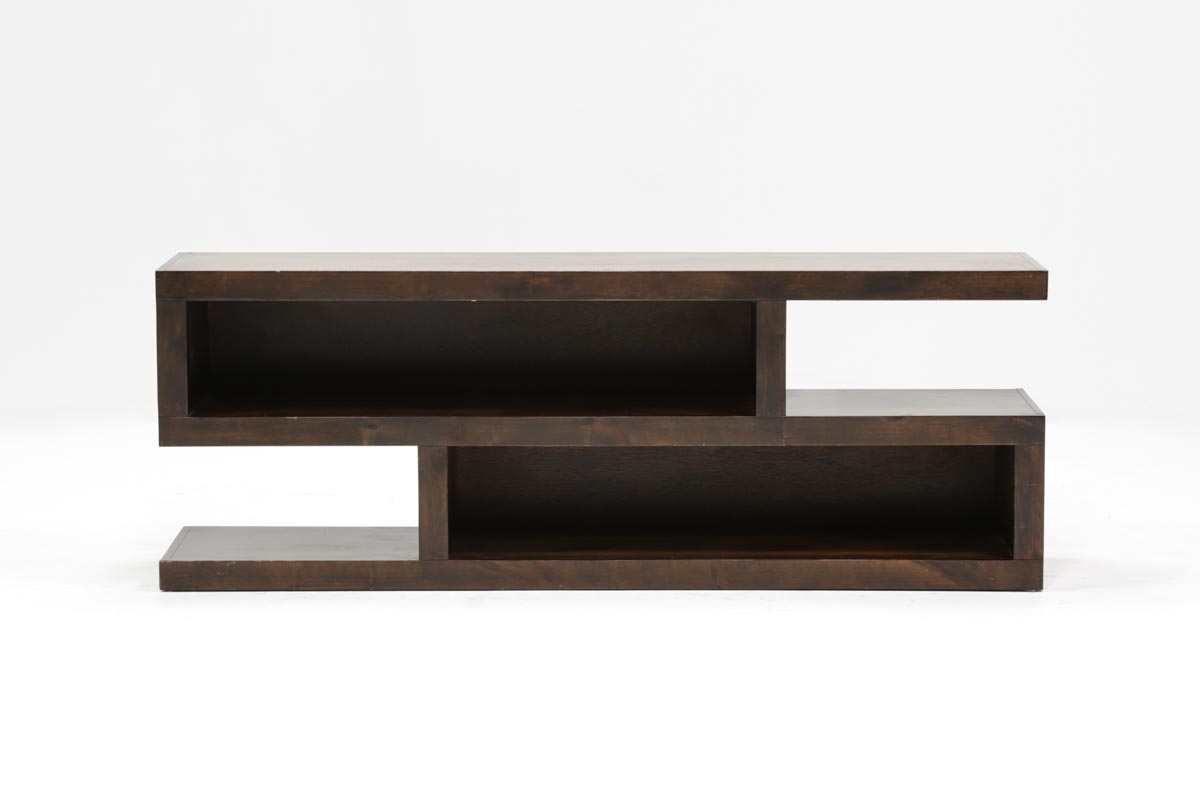 Walton 74 Inch Open TV Stand | Living Spaces