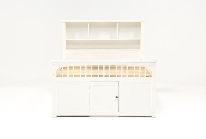 Bayfront Full Captains Bed With Double 4-Drawer Unit - 360