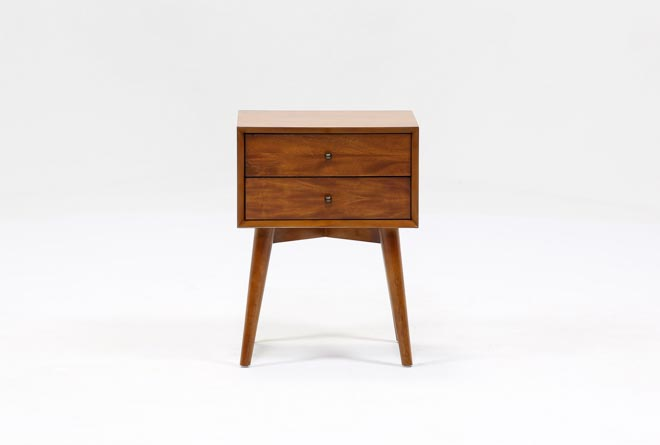 Alton Cherry Night Table - 360