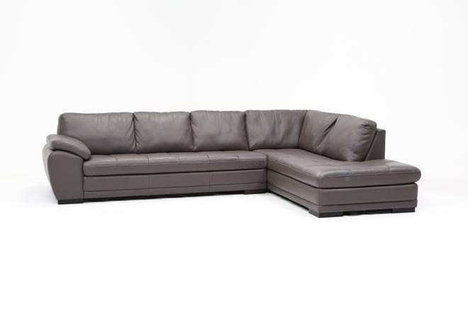 Vaughn Granite 2 Piece Sectional W/Raf Chaise - 360