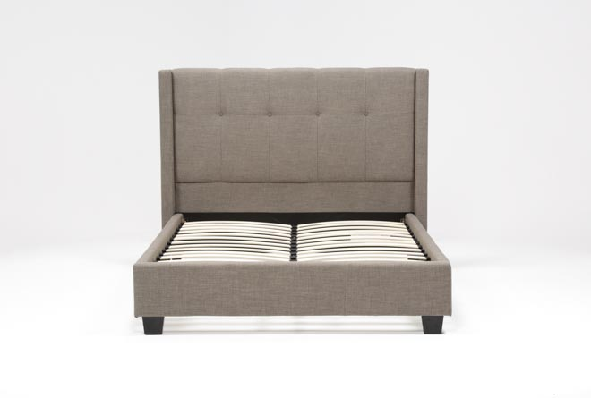 Damon II Eastern King Upholstered Platform Bed - 360