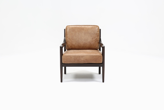 Dominic Saddle Accent Chair - 360