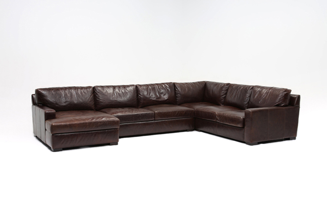 Gordon 3 Piece Sectional W/Laf Chaise - 360
