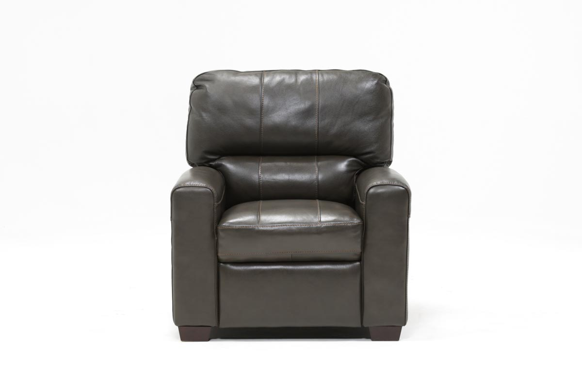 Andrew Leather Recliner   360