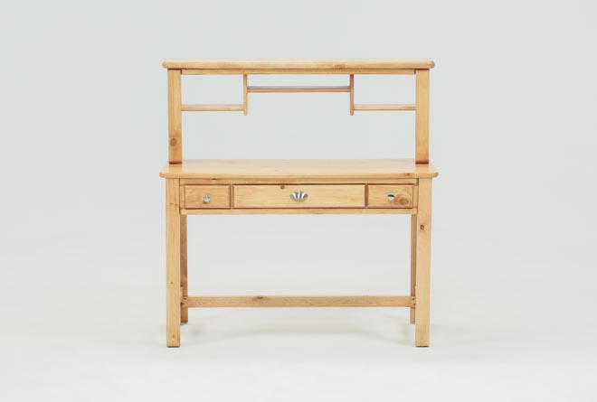 Summit Caramel Desk/Hutch - 360