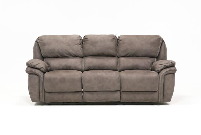 Norfolk Grey Power Reclining Sofa - 360