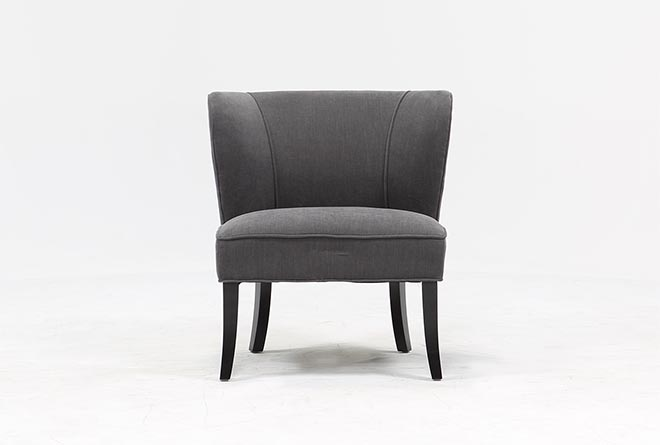 Riley Grey Accent Chair - 360