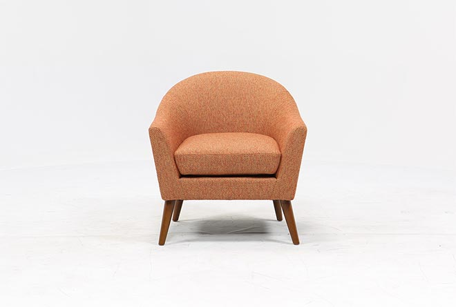 Finn Chili Accent Chair - 360