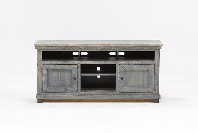 Sinclair Blue 64 Inch TV Stand - 360