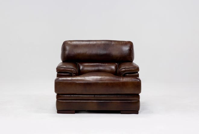Rodrick Leather Chair - 360