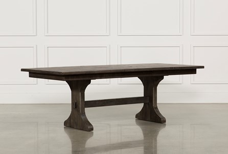 Display product reviews for VALENCIA 72 INCH EXTENSION TRESTLE DINING TABLE