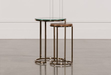 Display product reviews for BRYCE NESTING END TABLES