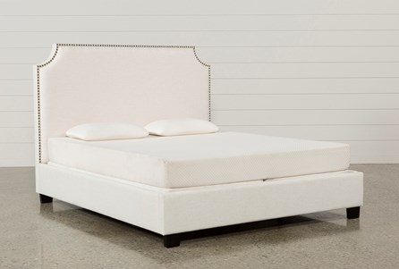 Display product reviews for KIT-SOPHIA QUEEN UPHOLSTERED PLATFORM BED
