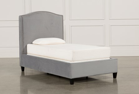 Display product reviews for KIT-KATE DOVE TWIN UPHOLSTERED BED