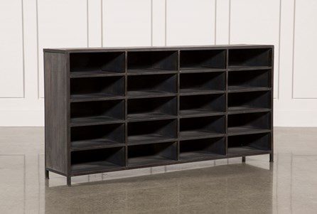 Display product reviews for OTB GREY WASH FINISH STORAGE UNIT
