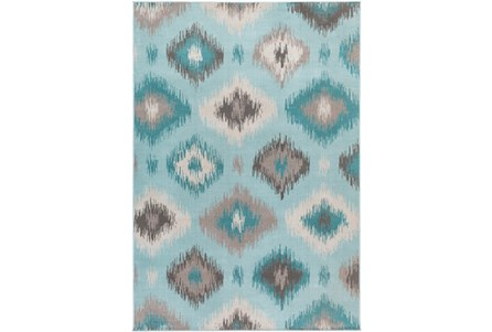 Display product reviews for 64X92 RUG-AQUA/GREY IKAT