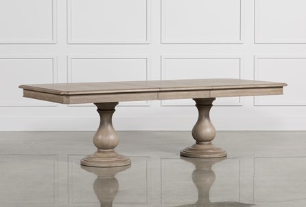 Display product reviews for KIT-CAIRA EXTENSION PEDESTAL DINING TABLE