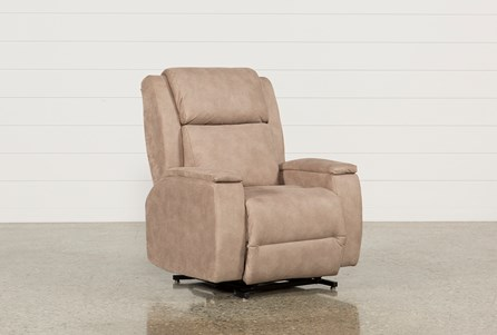 Display product reviews for TOBIN POWER-LIFT RECLINER W/POWER HEADREST