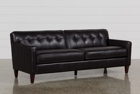 Display product reviews for MADISON ESPRESSO LEATHER SOFA