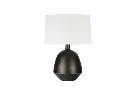 Display product reviews for TABLE LAMP-YUTA BLACK BRONZE