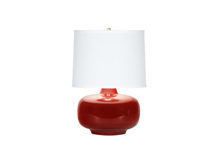 Display product reviews for TABLE LAMP-ZOEY RED