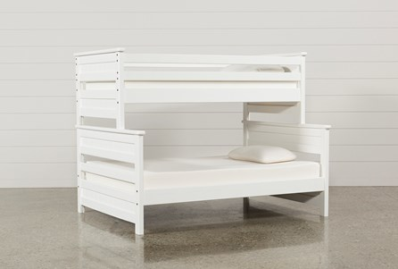 Display product reviews for KIT-SUMMIT WHITE TWIN OVER FULL BUNK BED