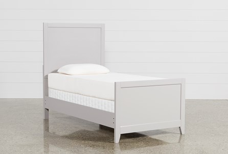 Display product reviews for KIT-BAYSIDE GREY TWIN PANEL BED