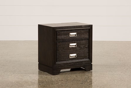 Display product reviews for FLYNN 2-DRAWER NIGHTSTAND