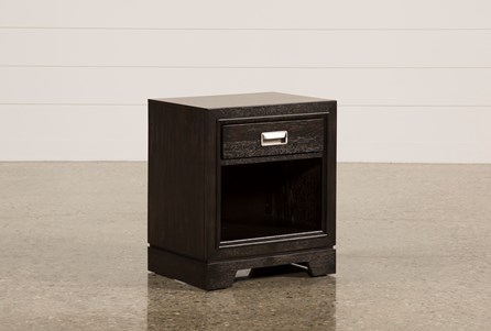 Display product reviews for FLYNN 1-DRAWER NIGHTSTAND