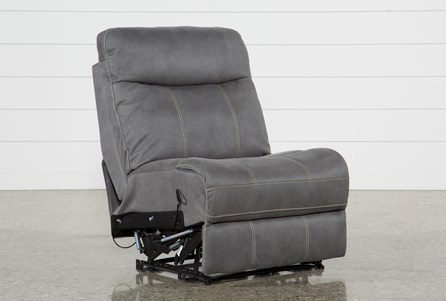 Display product reviews for DENALI LIGHT GREY ARMLESS RECLINER