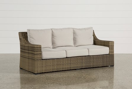 Display product reviews for OUTDOOR AVENTURA SOFA - Outdoor + Patio Furniture Living Spaces