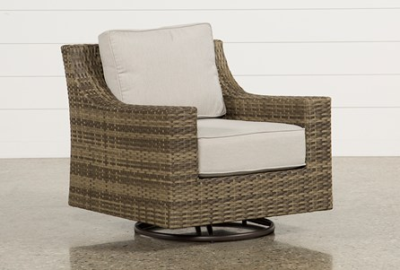 Display product reviews for OUTDOOR AVENTURA SWIVEL CHAIR