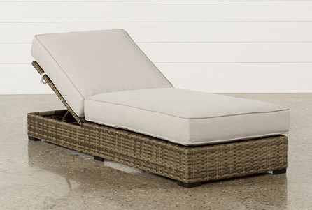 Display product reviews for OUTDOOR AVENTURA CHAISE LOUNGE
