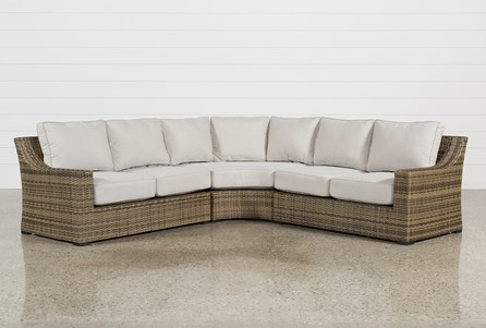 Display product reviews for KIT-OUTDOOR AVENTURA 3 PIECE SECTIONAL