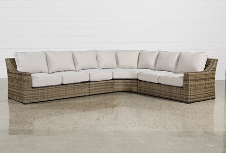 Display product reviews for KIT-OUTDOOR AVENTURA 4 PIECE SECTIONAL