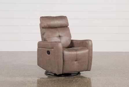 Display product reviews for LINDSEY MUSHROOM SWIVEL GLIDER RECLINER