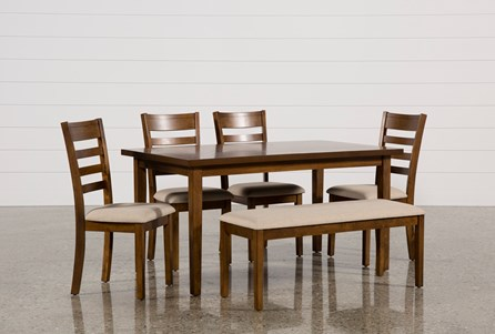 Display product reviews for PATTERSON 6 PIECE DINING SET