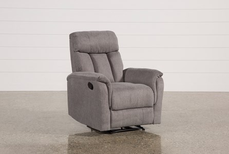 Display product reviews for SUZY DARK GREY WALLAWAY RECLINER