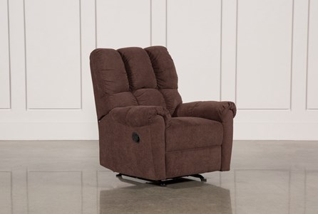 Display product reviews for SLOAN CHOCOLATE ROCKER RECLINER