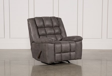 Display product reviews for SHAY GREY ROCKER RECLINER
