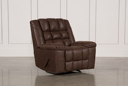 Display product reviews for SHAY BROWN ROCKER RECLINER