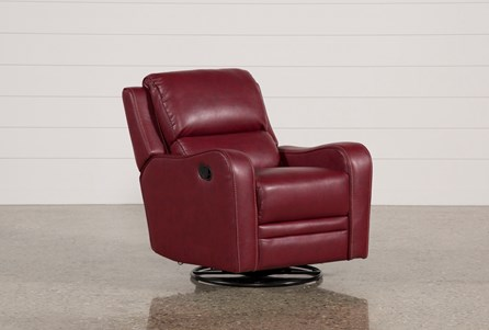 Display product reviews for SCORPIO RED SWIVEL GLIDER RECLINER
