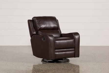 Display product reviews for SCORPIO BROWN SWIVEL GLIDER RECLINER